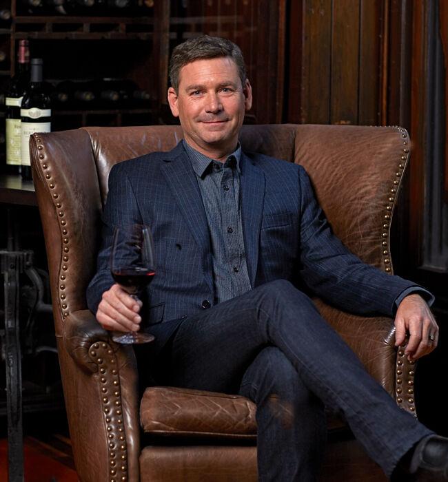 Winemaker Mark Beringer