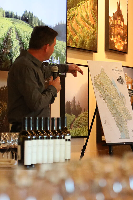 wine country corporate event