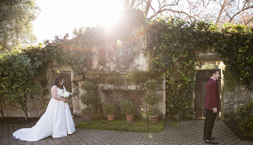 Wine country wedding at Beringer estate