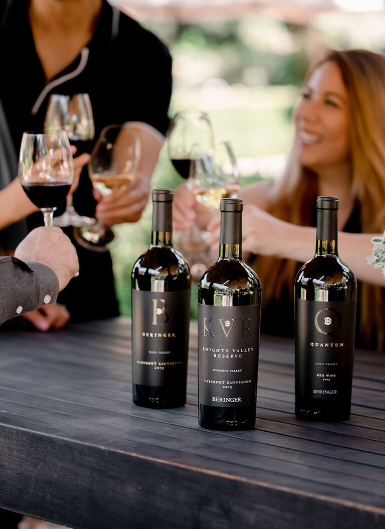 Wine Club Members Enjoying Beringer Wines
