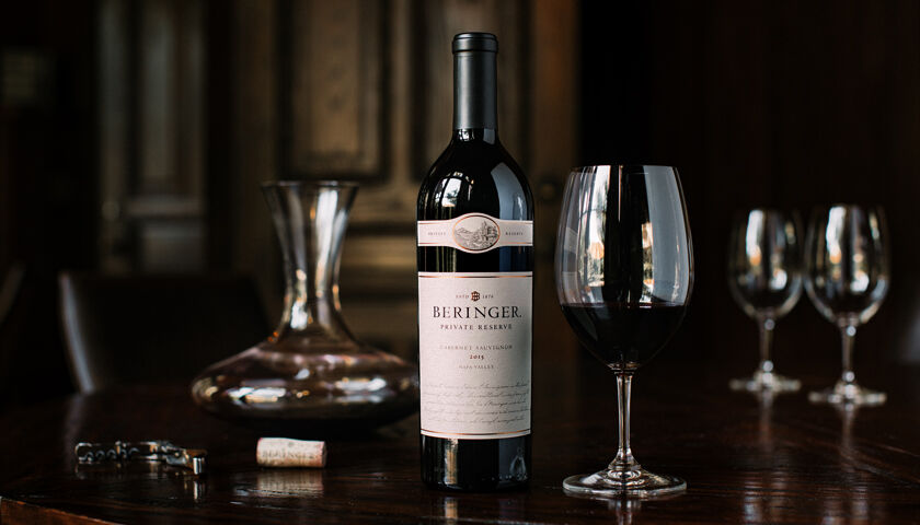 99 Point Beringer Private Reserve Cabernet Sauvignon