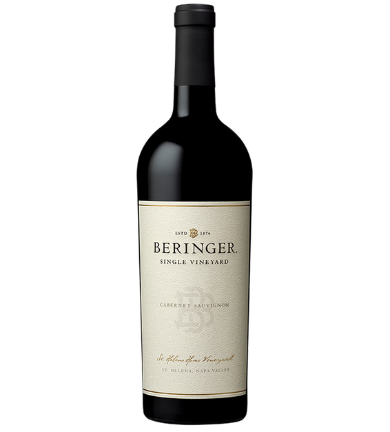 2012 Beringer St Helena Home Vineyard Napa Valley Cabernet Sauvignon Bottle Shot