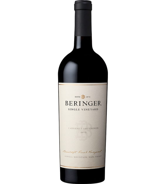 2015 Beringer Bancroft Ranch Howell Mountain Cabernet Sauvignon