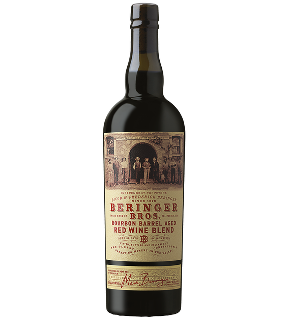 2019 Beringer Brothers Bourbon Barrel Aged California Chardonnay Bottle Shot