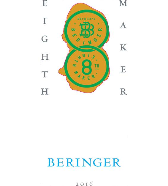 2016 Beringer 8th Maker Napa Valley Cabernet Sauvignon Front Label