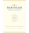2015 Beringer Bancroft Ranch Howell Mountain Merlot Front Label