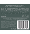 2017 Beringer Napa Valley Chardonnay Back Label, image 3