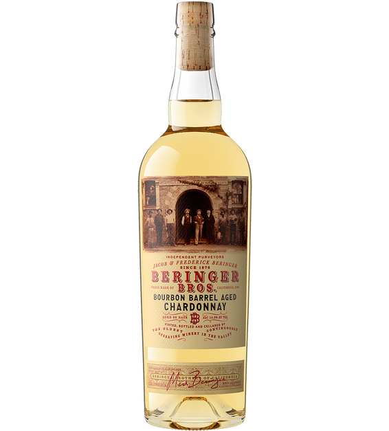 2019 Beringer Brothers Bourbon Barrel Aged Chardonnay California Bottle Shot