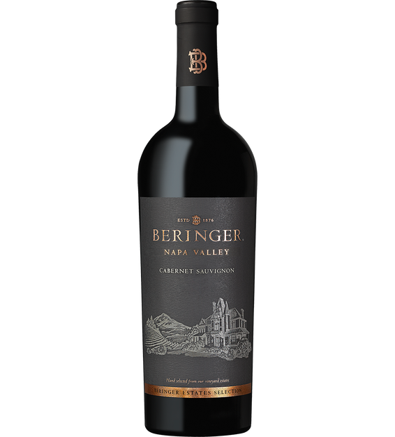 2017 Beringer Winery Exclusive Napa Valley Cabernet Sauvignon Bottle Shot