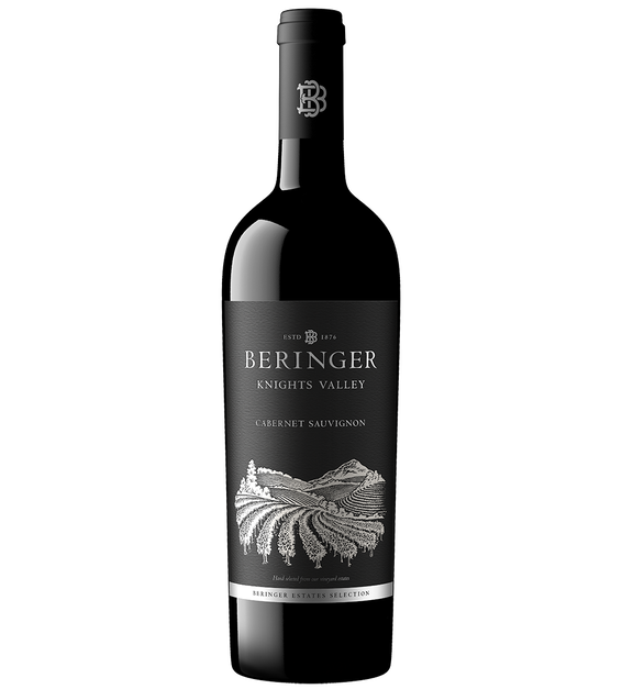 2017 Beringer Knights Valley Cabernet Sauvignon Magnum Bottle Shot