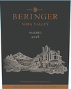 2018 Beringer Winery Exclusive Napa Valley Malbec Front Label, image 2