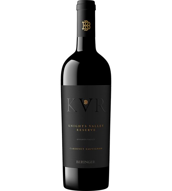 2018 Beringer Knights Valley Reserve Sonoma County Cabernet Sauvignon Bottle Shot