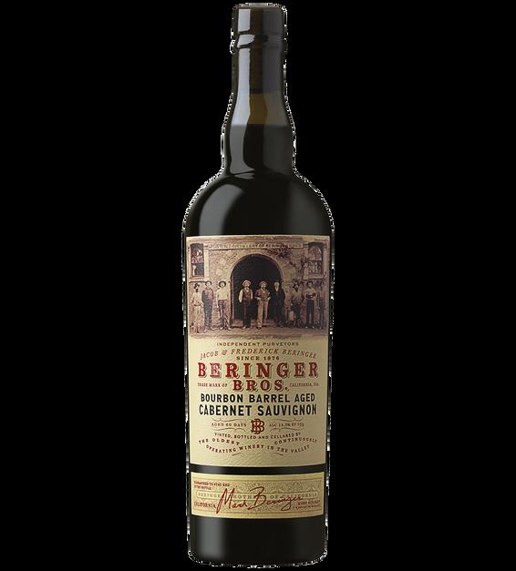 2019 Beringer Brothers Bourbon Barrel Aged California Cabernet Sauvignon Bottle Shot