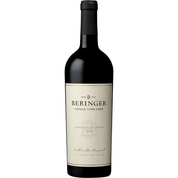 2016 Beringer St Helena Home Vineyard Cabernet Sauvignon Bottle Shot