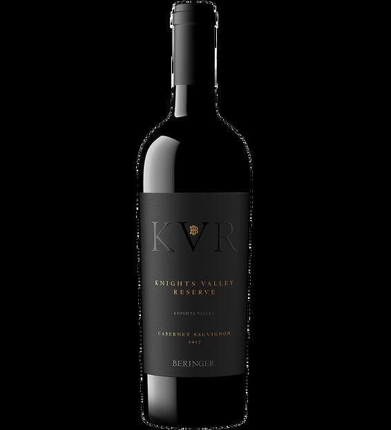 2017 Beringer Knights Valley Reserve Cabernet Sauvignon Bottle Shot
