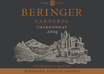 2019 Beringer Winery Exclusive Carneros Chardonnay Front Label, image 2