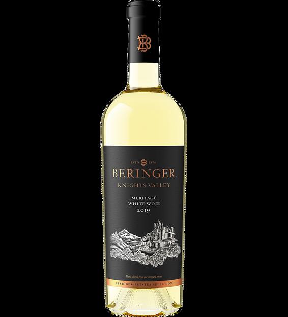 2019 Beringer Meritage Knights Valley White Blend Bottle Shot