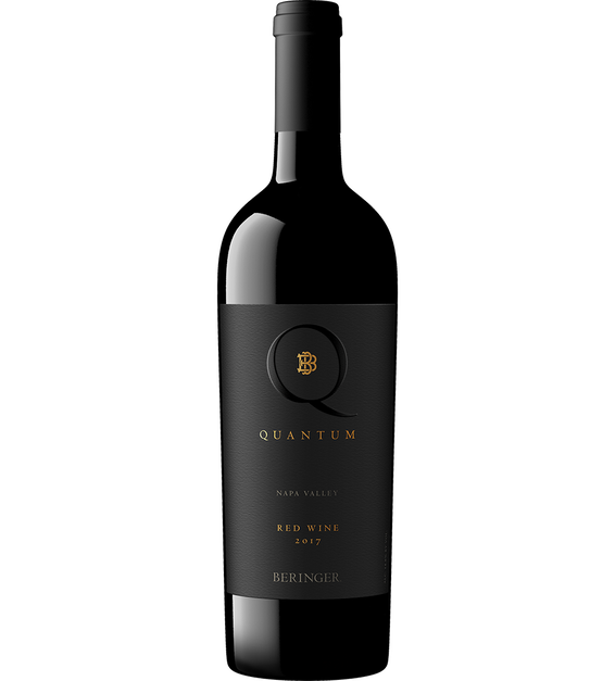 2017 Beringer Quantum Red Wine Bottle Shot