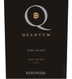 2013 Beringer Quantum Red Blend Napa Valley Front Label