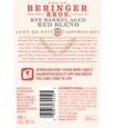 2017 Beringer Brothers Rye Barrel Aged Red Blend, image 2