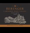 2018 Beringer Winery Exclusive Pinot Noir Front Label, image 2