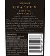 2013 Beringer Quantum Red Blend Napa Valley Back Label