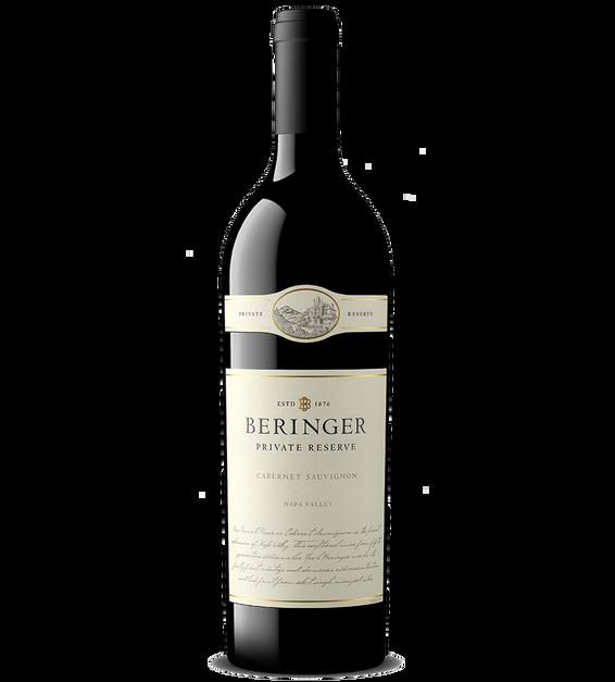 2018 Beringer Private Reserve Napa Valley Cabernet Sauvignon Magnum Bottle Shot