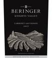 2017 Beringer Knights Valley Cabernet Sauvignon Front Label