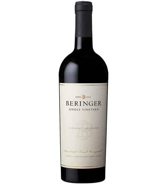 2017 Beringer Bancroft Ranch Vineyard Cabernet Sauvignon Bottle Shot