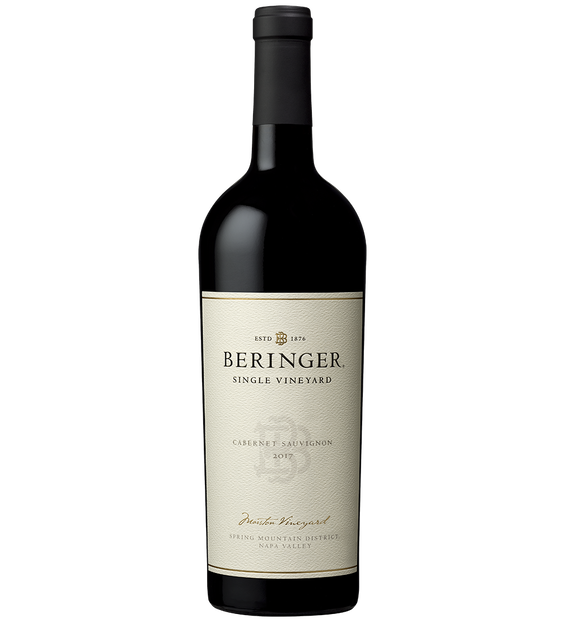 2017 Beringer Marston Ranch Napa Valley Cabernet Sauvignon Bottle Shot