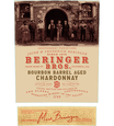 2017 Beringer Brothers Bourbon Barrel Aged Chardonnay Back Label