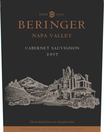2017 Beringer Winery Exclusive Napa Valley Cabernet Sauvignon Front Label, image 2
