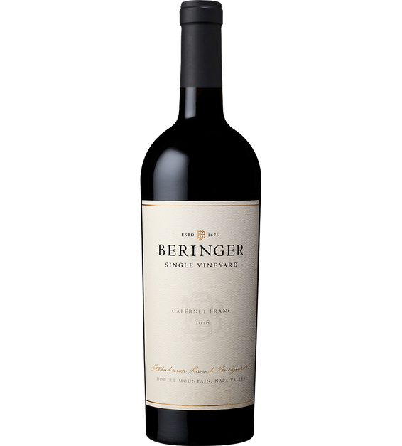 2016 Beringer Steinhauer Ranch Howell Mountain Cabernet Franc