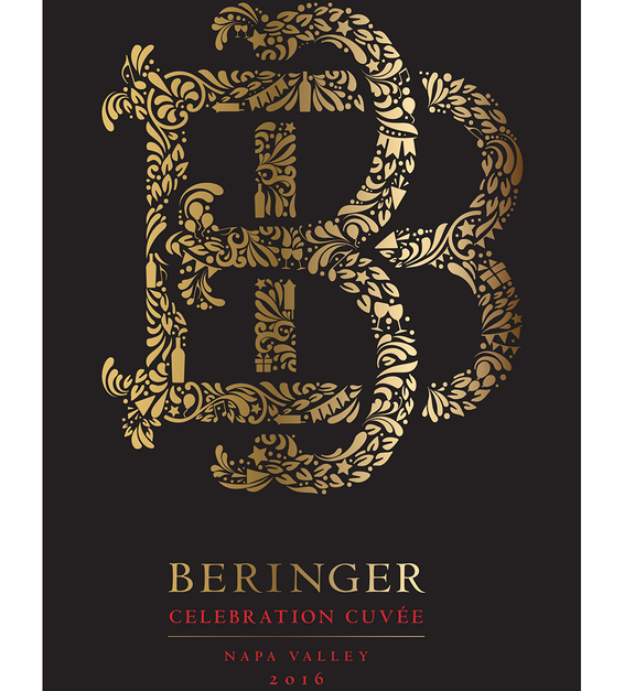 2016 Beringer Celebration Cuvee Red Blend Napa Valley Magnum Front Label
