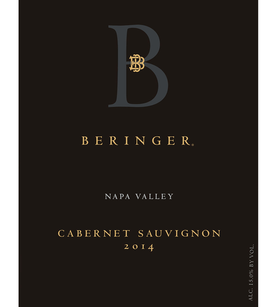 2014 Beringer Distinction Series Napa Valley Cabernet Sauvignon Front Label