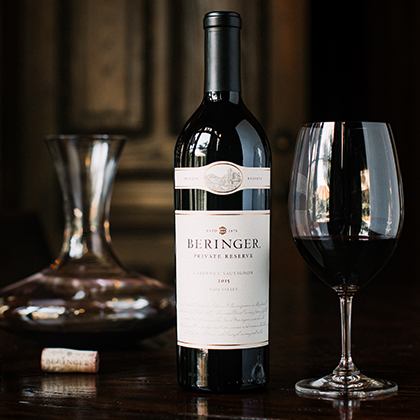 Beringer Private Reserve Cabernet Sauvignon from Collectors' Circle Wine Club Shipment