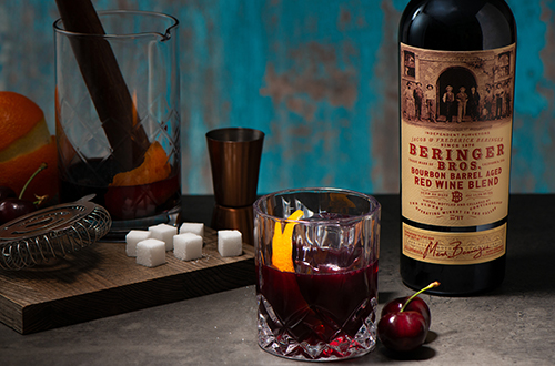 Beringer Bros. Red Wene Blend Old Fashioned